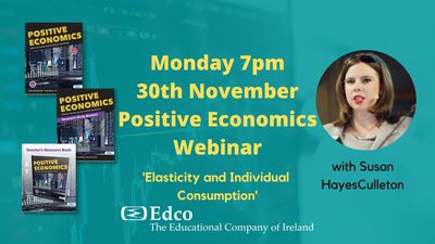 Edco Webinar Elasticity and Individual Consumption