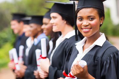 How can young graduates convince a foreign employer they'd be perfect for the job?